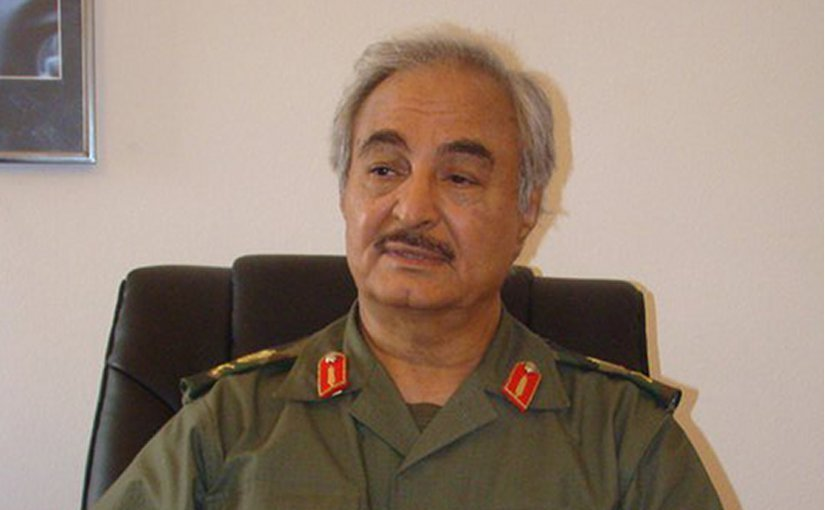 Libyan General Haftar's visit to Saudi Arabia