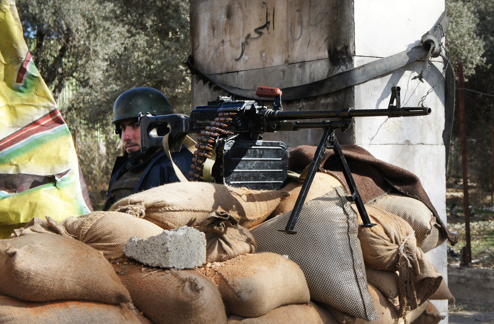 A delicate balance of power in Syria's last opposition stronghold